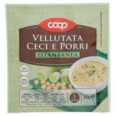 Coop-Vellutata Ceci e Porri Istantanea 35 g