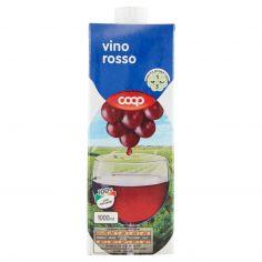 Coop-vino rosso 1000 ml