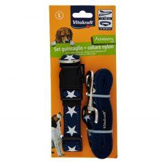 PET COMPANY-Vitakraft Accesssory Set guinzaglio + collare nylon L