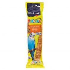 VITAKRAFT-Vitakraft Kräcker + Miele & sesamo pappagallini ondulati 2 pezzi 60 g