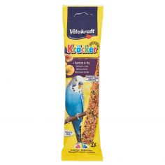 VITAKRAFT-Vitakraft Kräcker Original + Albicocca & fico pappagallini ondulati 2 pezzi 60 g