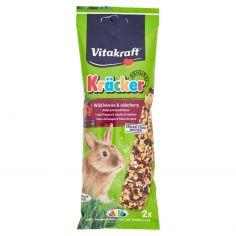 VITAKRAFT-Vitakraft Kräcker Original + Frutti di bosco & bacche di sambuco conigli nani 2 pezzi 112 g