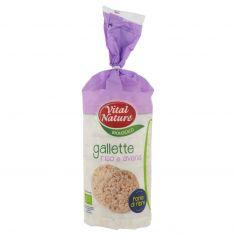 VITALNATURE-Vital Nature Biologico gallette riso e avena 100 g