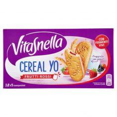 VITASNELLA-Vitasnella Cereal Yo Frutti Rossi 5 x 50,6 g