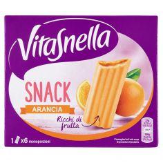 VITASNELLA-Vitasnella Snack Arancia 6 x 27 g