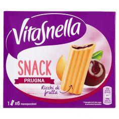 VITASNELLA-Vitasnella Snack Prugna 6 x 27 g