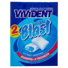 VIVIDENT-Vivident Fresh Blast Ice Mint-Menthol 2 x 30 g
