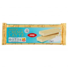 Coop-Wafers con Crema Latte 175 g