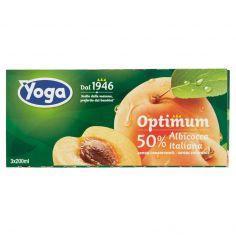 OPTIMUM-Yoga Optimum 50% Albicocca Italiana 3 x 200 ml