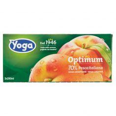 OPTIMUM-Yoga Optimum 70% Pesca Italiana 3 x 200 ml