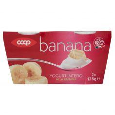 Coop-Yogurt Intero alla Banana 2 x 125 g