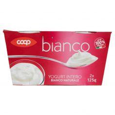 Coop-Yogurt Intero Bianco Naturale 2 x 125 g