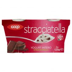 Coop-Yogurt Intero Stracciatella 2 x 125 g