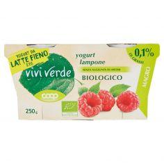 Coop-yogurt lampone Biologico Magro 2 x 125 g