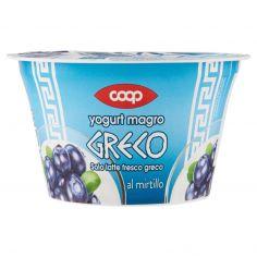 Coop-yogurt magro Greco al mirtillo 170 g