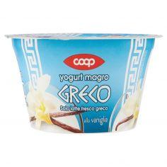 Coop-yogurt magro Greco alla vaniglia 170 g