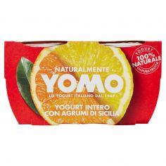 YOMO-Yomo Yogurt Intero con Agrumi di Sicilia 2 x 125 g