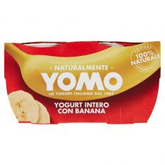YOMO-Yomo Yogurt Intero con Banana 2 x 125 g