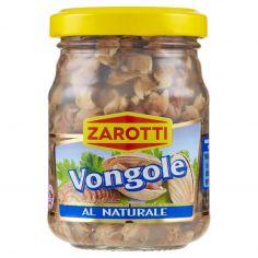ZAROTTI-Zarotti Vongole al Naturale 130 g