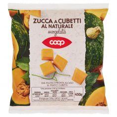 Coop-Zucca a Cubetti al Naturale surgelata 450 g