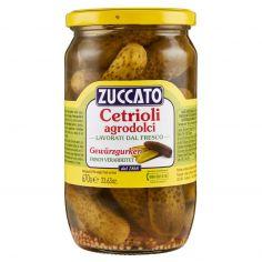 ZUCCATO-Zuccato Cetrioli agrodolci 670 g