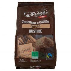 Coop-Zucchero di Canna Chiaro Bustine Biologico 100 x 5 g