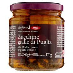 Coop-Zucchine gialle di Puglia alla Mediterranea grigliate sott'olio 280 g