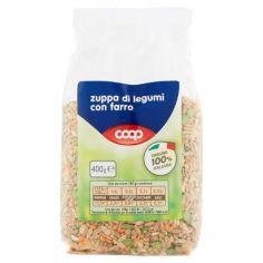 Coop-zuppa di legumi con farro 400 g