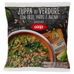 Coop-Zuppa di Verdure con Orzo, Farro e Avena Surgelata 600 g