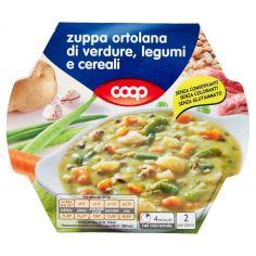 Coop-zuppa ortolana di verdure, legumi e cereali 600 g
