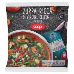 Coop-Zuppa Ricca di Verdure dell'Orto Surgelata 600 g