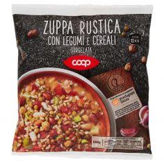 Coop-Zuppa Rustica con Legumi e Cereali Surgelata 600 g