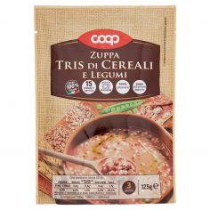 Coop-Zuppa Tris di Cereali e Legumi 125 g