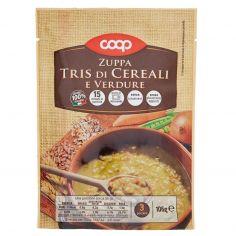 Coop-Zuppa Tris di Cereali e Verdure 106 g