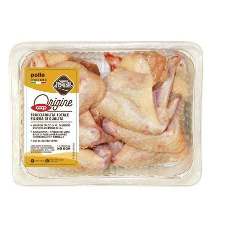 ali di pollo dieta