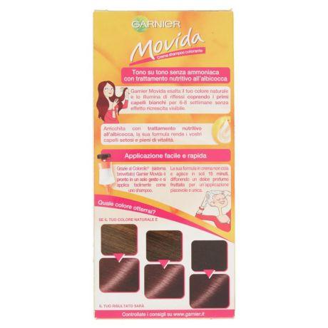Garnier Movida Crema Shampoo Colorante 40 Bruno Ramato - Easycoop.com d3c3560c7ad7