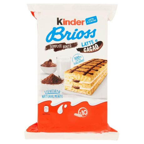 Kinder Brioss Latte E Cacao 10 X 28 G