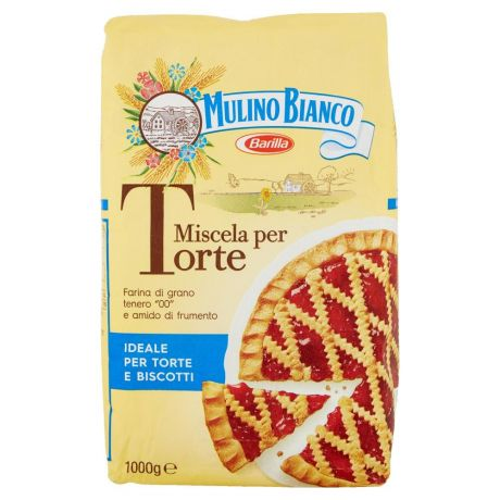 MULINO BIANCO,Mulino Bianco Miscela per Torte 1000 g