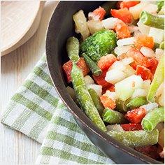 Verdure e minestroni